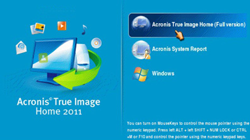 acronis true image secure zone