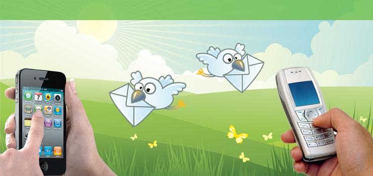 Inviare messaggi anonimi